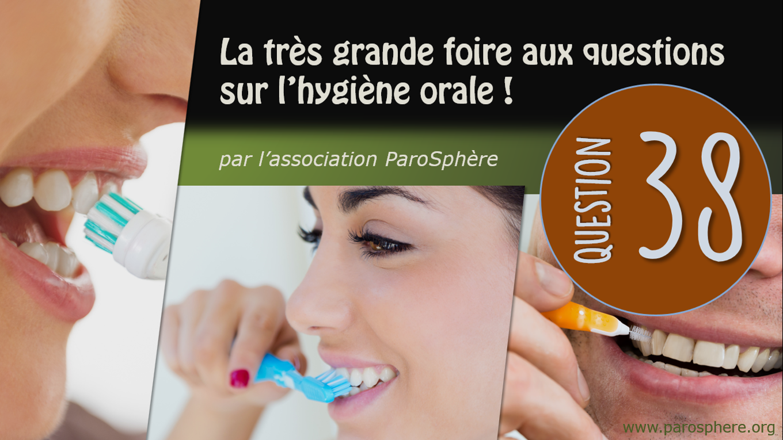 FAQ 38   Et si j'ai un traitement orthodontique, la brosse à dents électrique ne s'impose-t-elle pas?