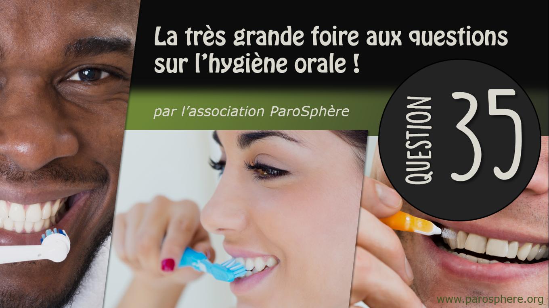 FAQ 35   La brosse à dents électrique peut-elle abîmer mes dents ?