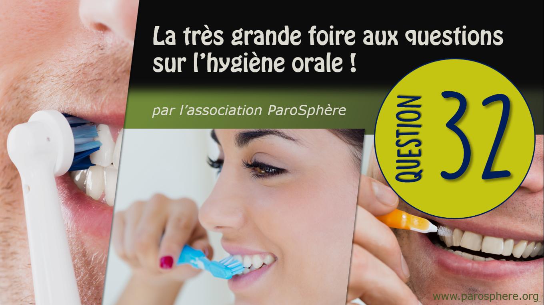 FAQ 32 | Quelle forme de tête de brosse à dents électrique faut-il préférer?
