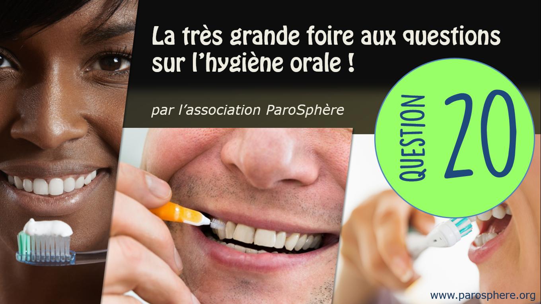 FAQ 20   Faut-il se rincer la bouche après avoir brossé les dents?
