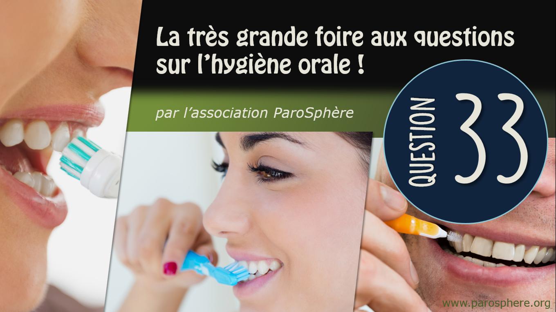 FAQ 33 | La brosse à dents électrique interfère-t-elle avec les pacemakers ?