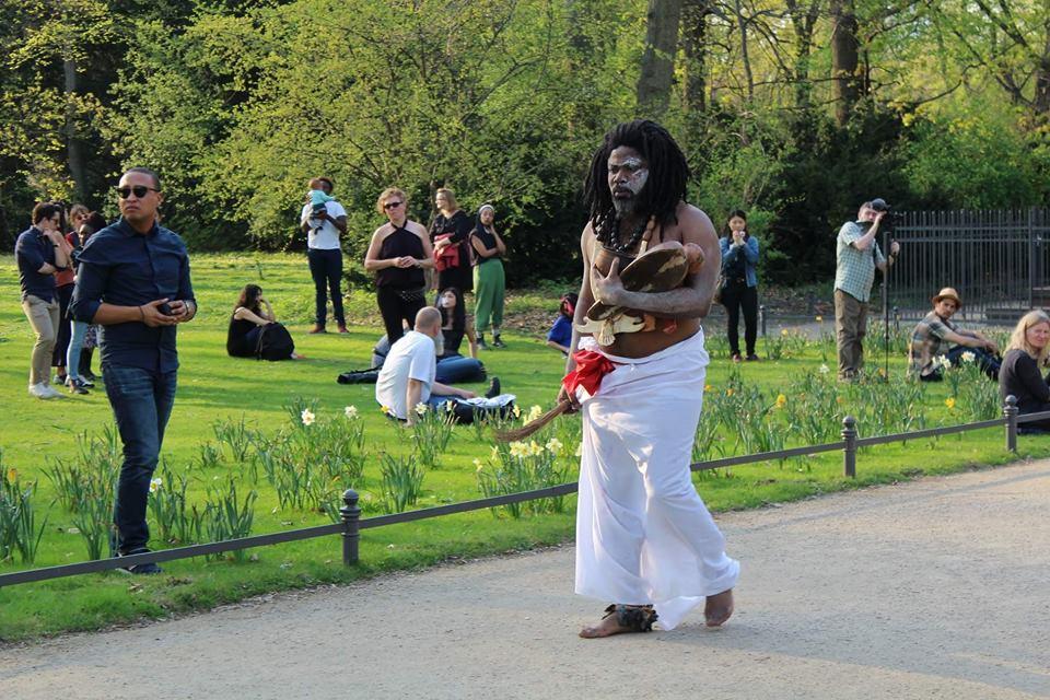 Christian Etongo / Demythologize that History and put it to rest / Berlin, Germany / April 2018