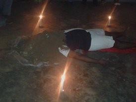 Requiem Pour un Fou,remember Ruben, Performance espace Yototi Yaoundé 2016