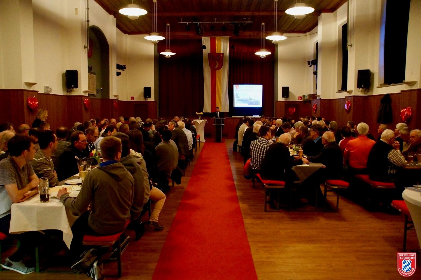 Bürgerversammlung 2019 im Gemeinschaftshaus Jesenwang