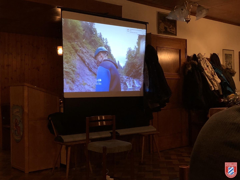 Anschließende Foto- und Film Diashow vom Team- und Jugendausflug 2017