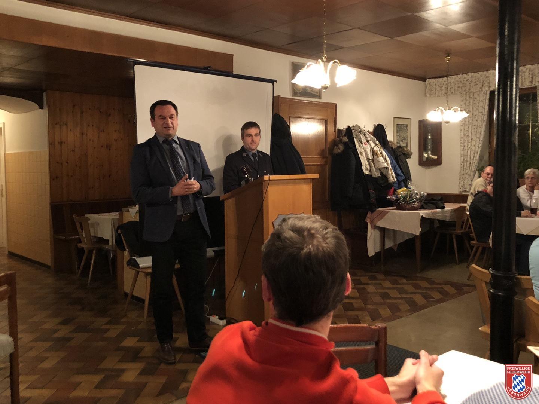 Gruß- und Dankesworte vom 1. Bürgermeister Erwin Fraunhofer