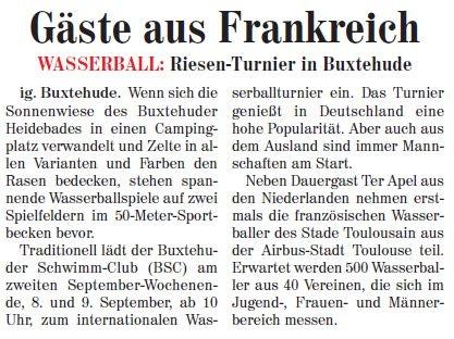 Neue Buxtehuder Wochenblatt vom 05.09.2012