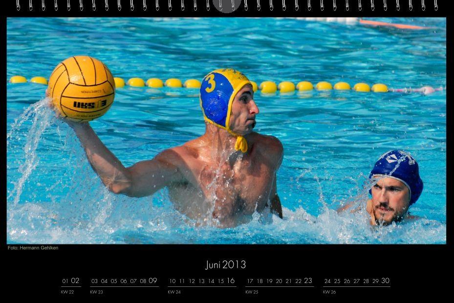 BSC-Kalender 2013 Wasserball-Männer, Juni