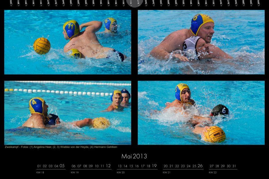 BSC-Kalender 2013 Wasserball-Männer, Mai