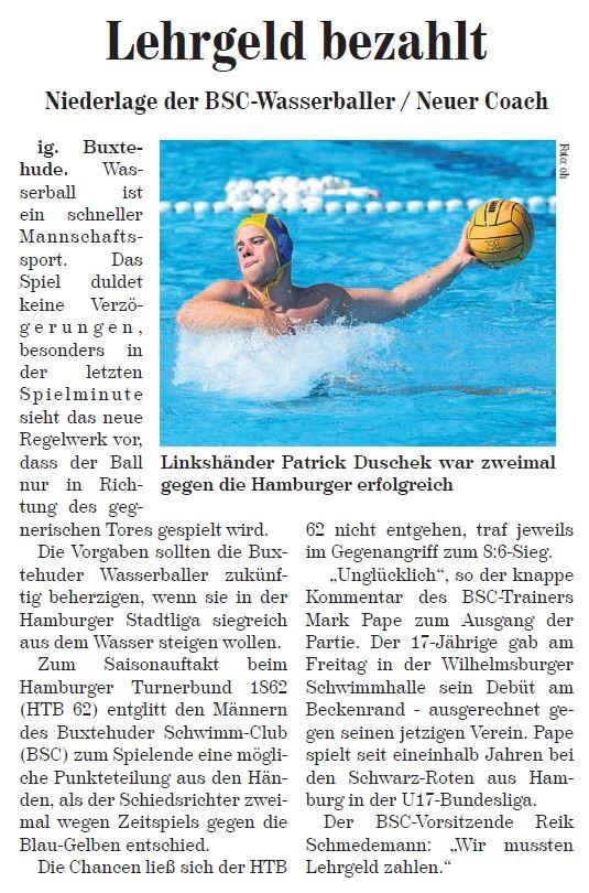 Buxtehuder Wochenblatt vom 14.01.2014