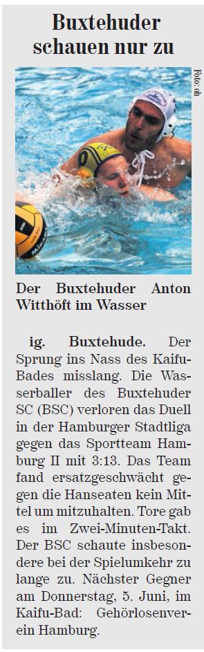 Neue Buxtehuder Wochenblatt vom 31.05.2014
