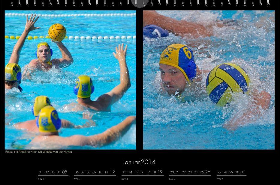 BSC-Kalender 2013 Wasserball-Männer, Januar 2014