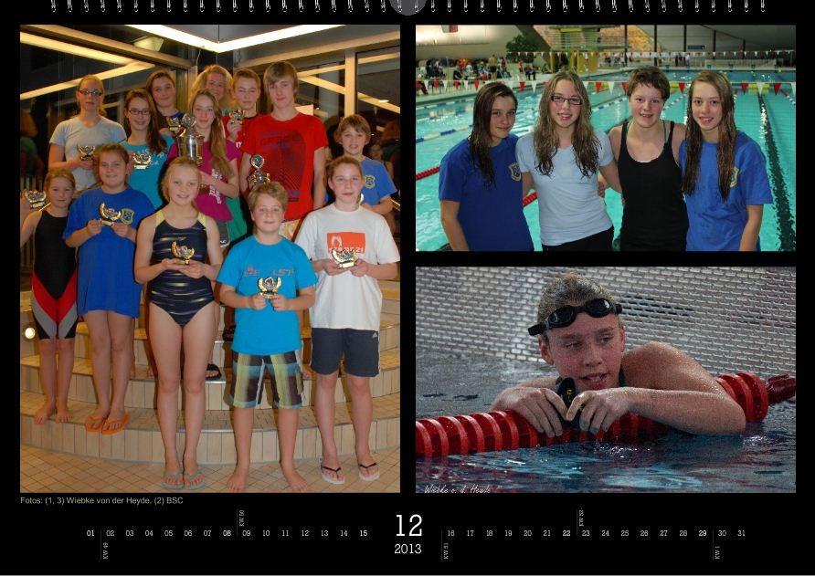 BSC-Kalender 2013 - Dezember