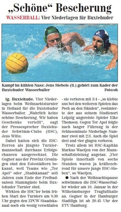 Neue Buxtehuder Wochenblatt vom 24.12.2011