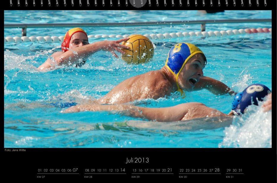 BSC-Kalender 2013 Wasserball-Männer, Juli