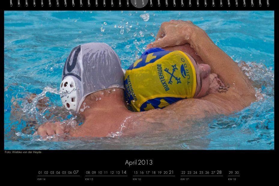 BSC-Kalender 2013 Wasserball-Männer, April