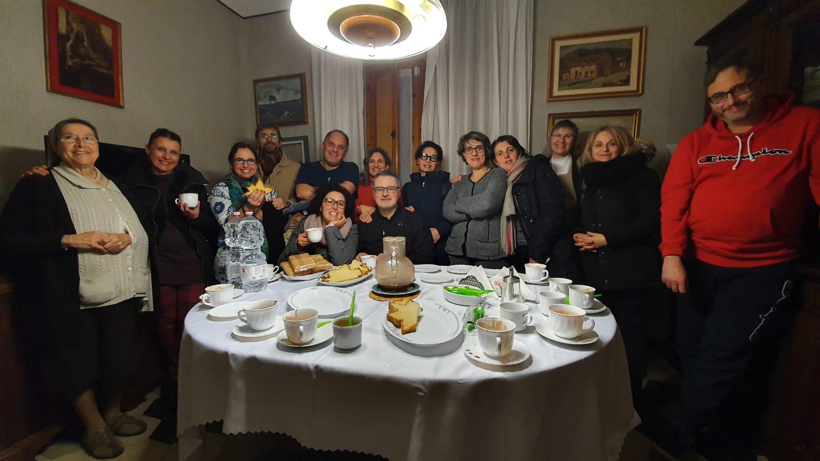Incontro del GGF di gennaio 2020 presso la Comunità delle Suore Carmelitane Missionarie Teresiane, in Barbaricina-Pisa