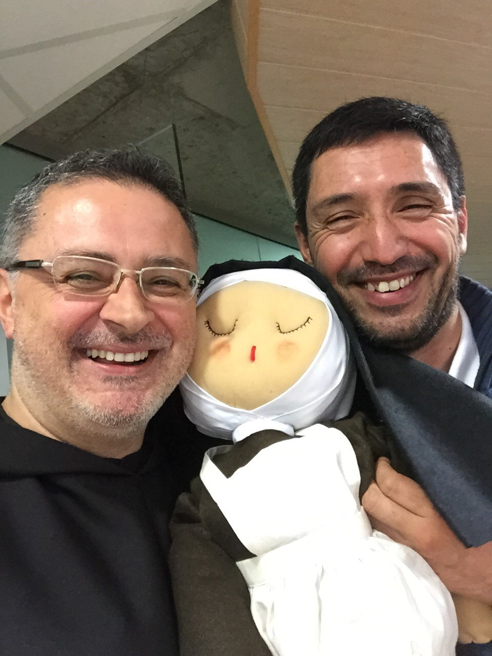 P. Gabriele Morra e P. Pablo, delegazione Argentina
