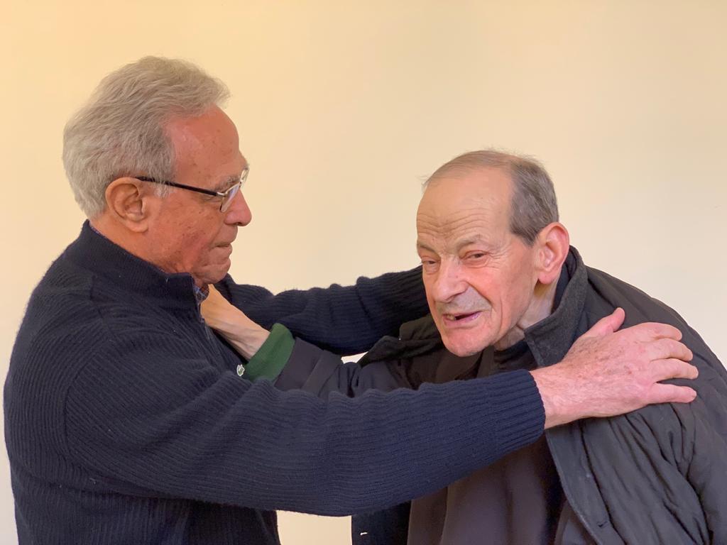 P. Luigi con p. Carlo Laudazi