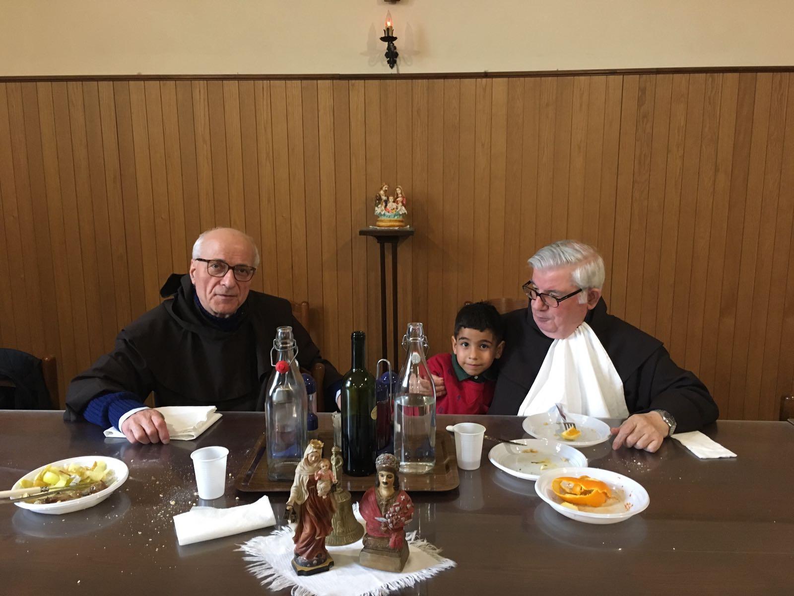 Incontrarsi per il pranzo incontri