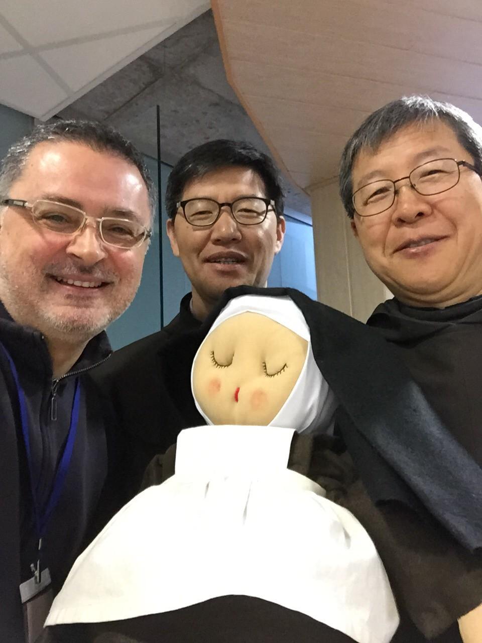 P. Gabriele Morra e il Provinciale della Corea del Sud