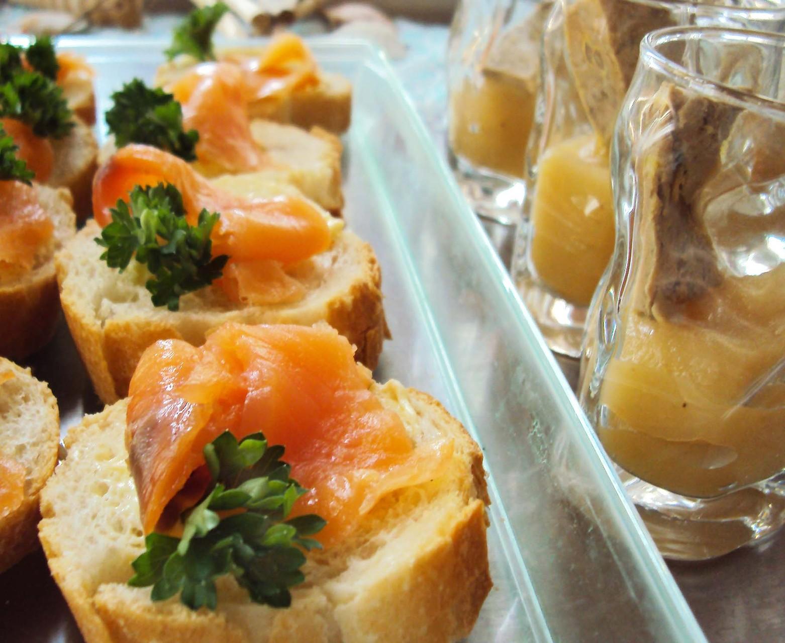DANET TRAITEUR - Bouchées au saumon
