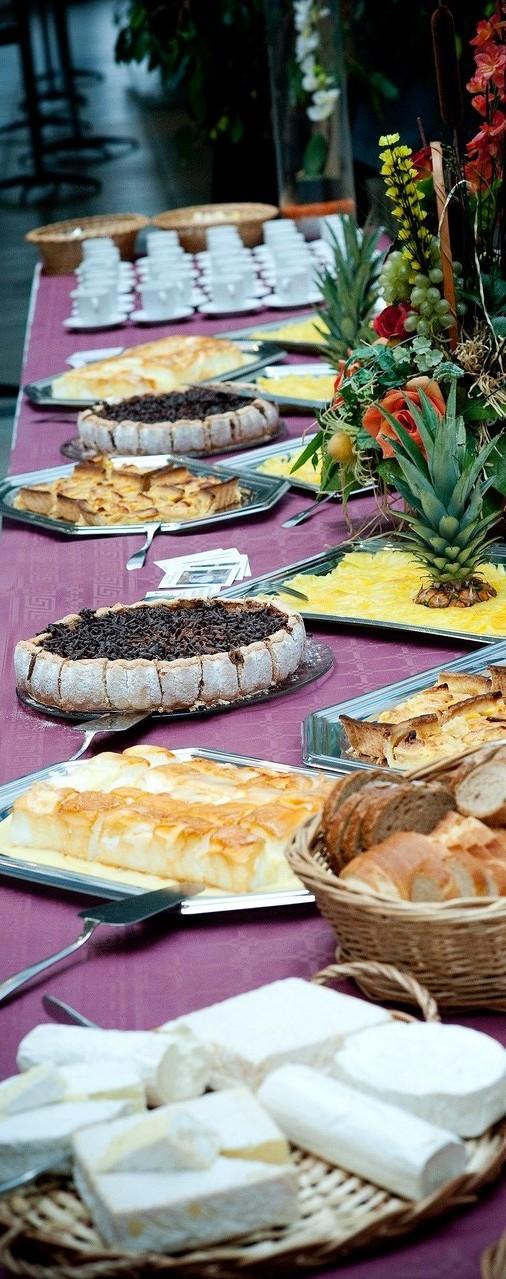 DANET TRAITEUR - Présentation buffet froid