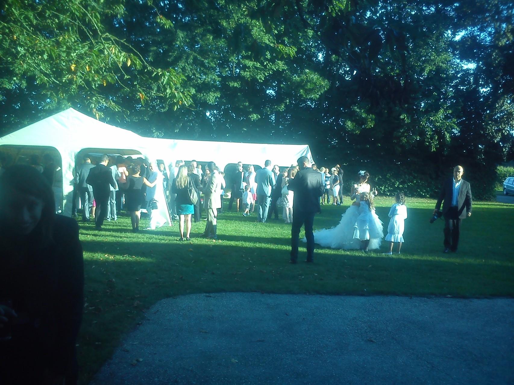 MARIAGE DANET TRAITEUR -  Réception en extérieur
