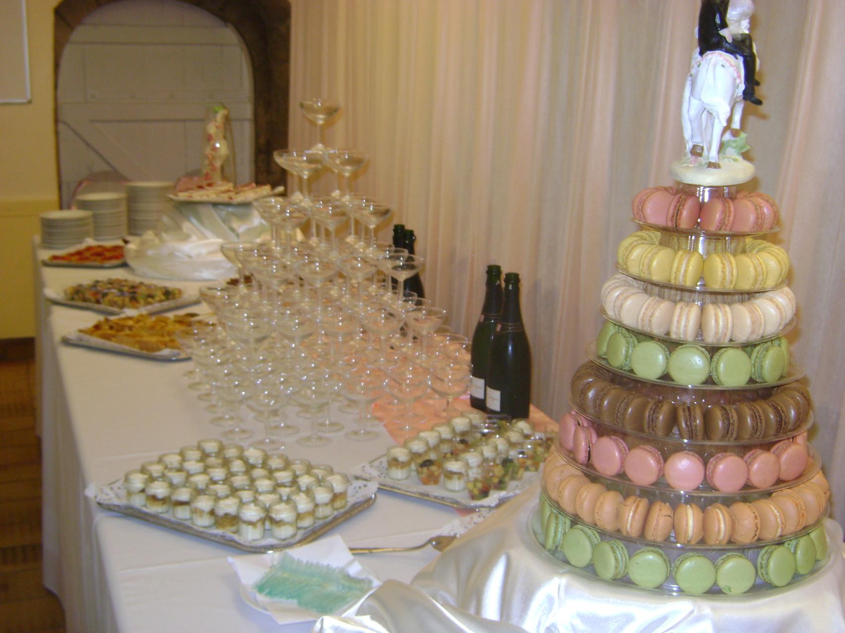 MARIAGE DANET TRAITEUR - Présentation desserts