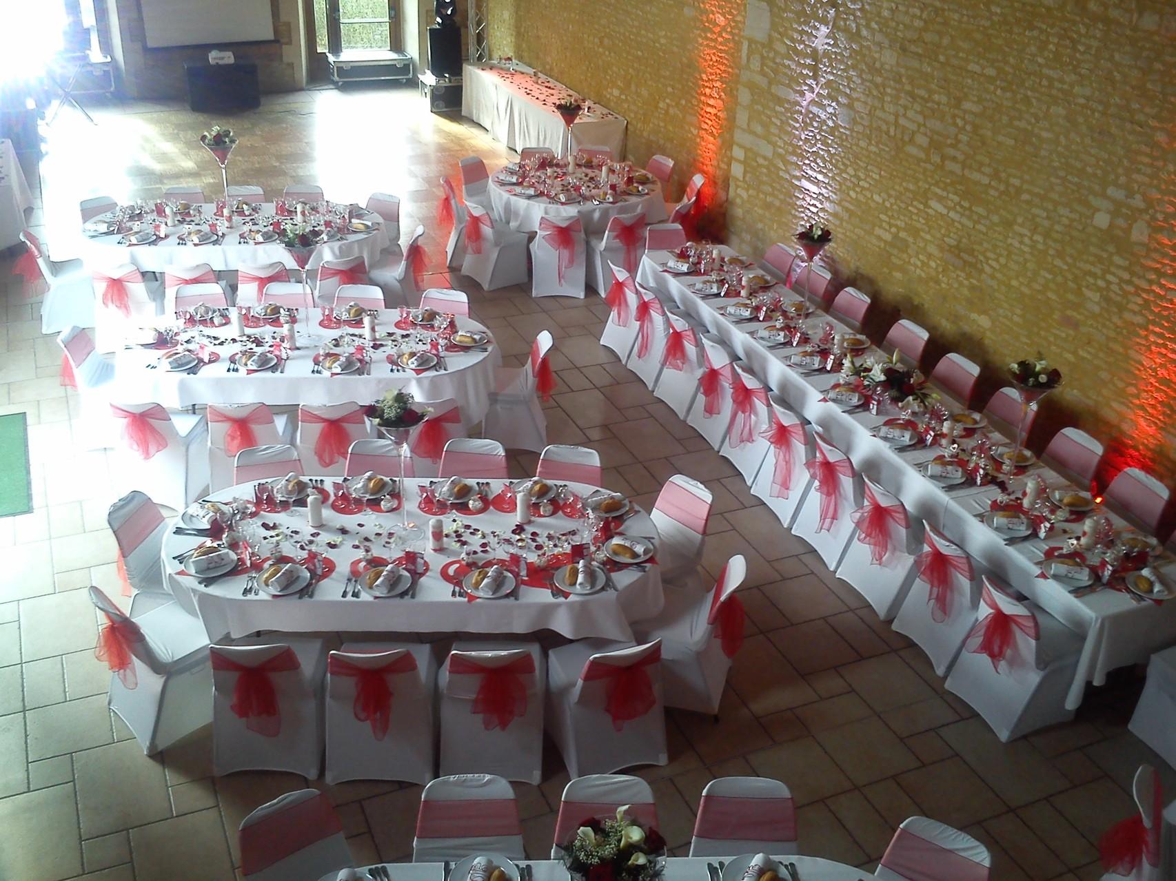 MARIAGE DANET TRAITEUR - Décor de tables