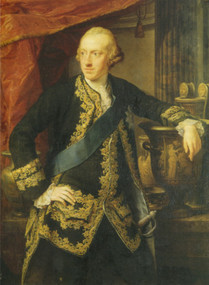 Carl Wilhelm Ferdiand, Porträt von Pompeo Batoni, 1767