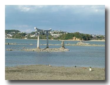 御島崎の鳥居