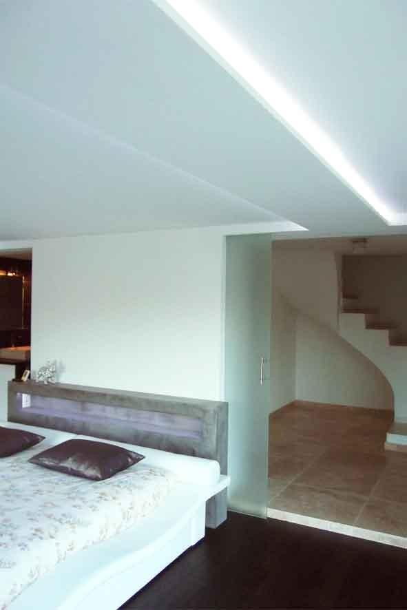 Passage de la chambre vers l'escalier