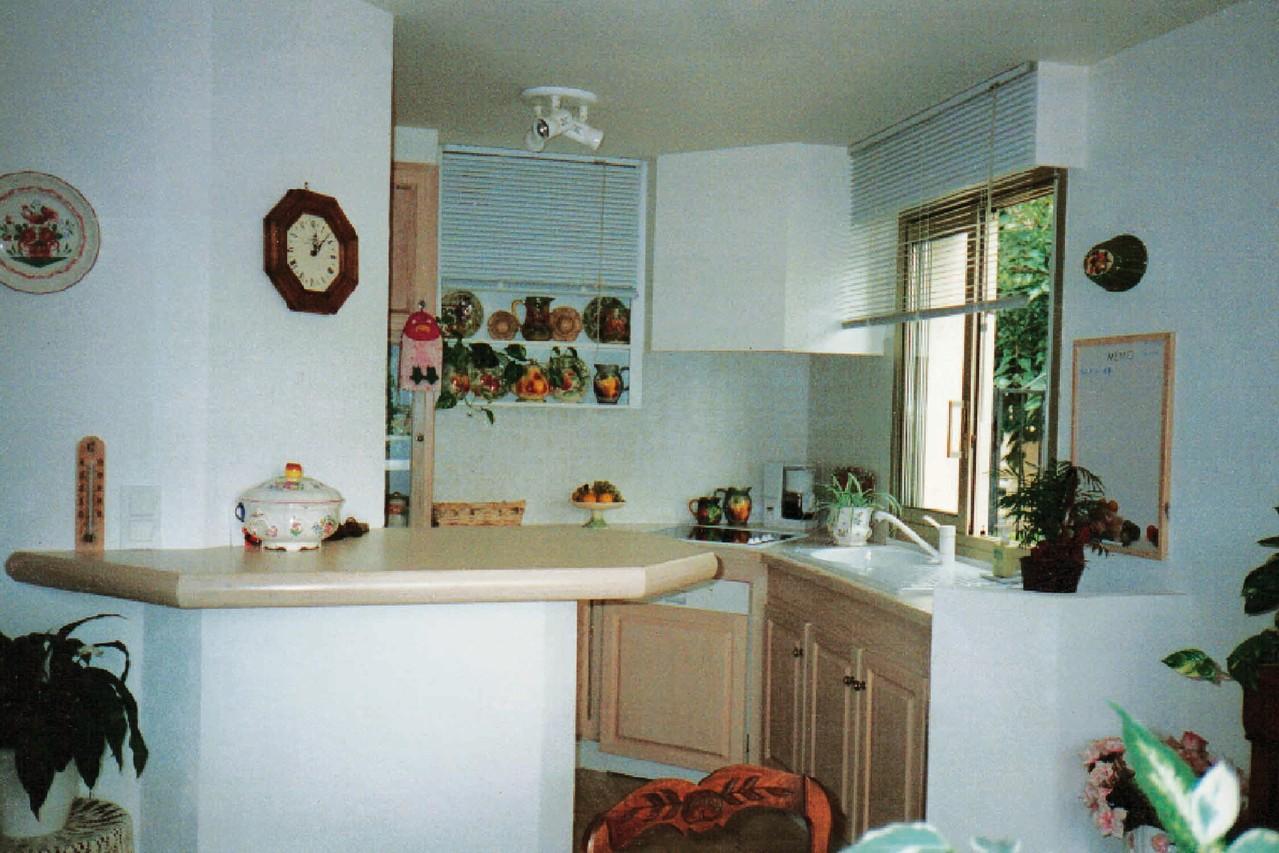 Agencement petite cuisine 3mx3m avec plan bar