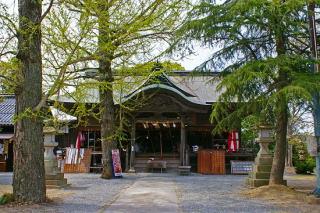 米子八幡神社・拝殿正面
