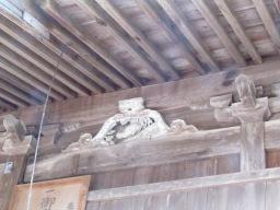 米子八幡神社 蛙又 魚