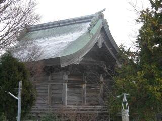 米子八幡神社本殿屋根