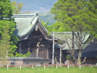 米子八幡神社本殿