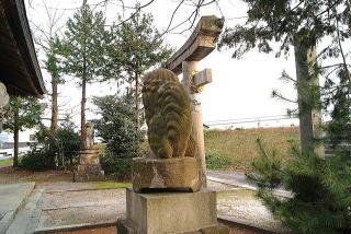米子八幡神社狛犬