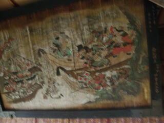 拝殿内大絵馬(江戸文化年間)