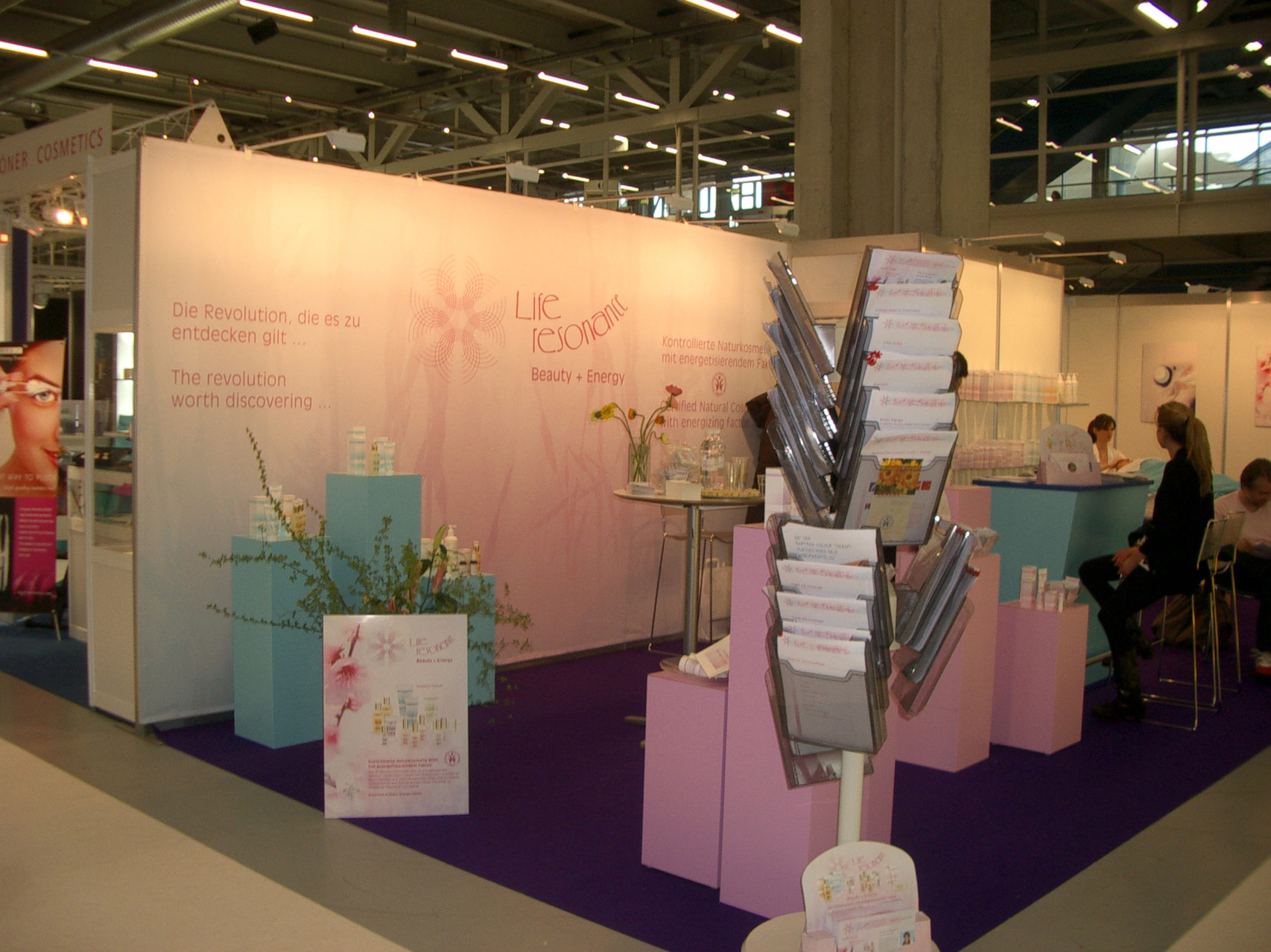 Messe 4Beauty. Foto: Life Resonance