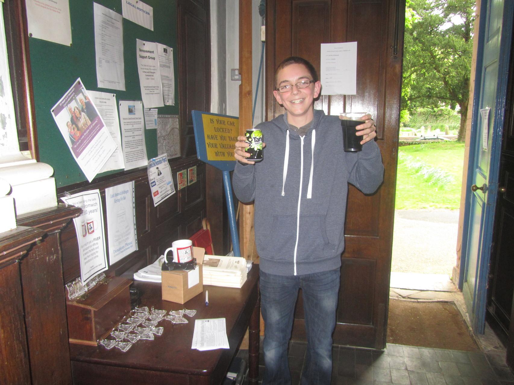Castle Bromwich Heritage Festival salesman