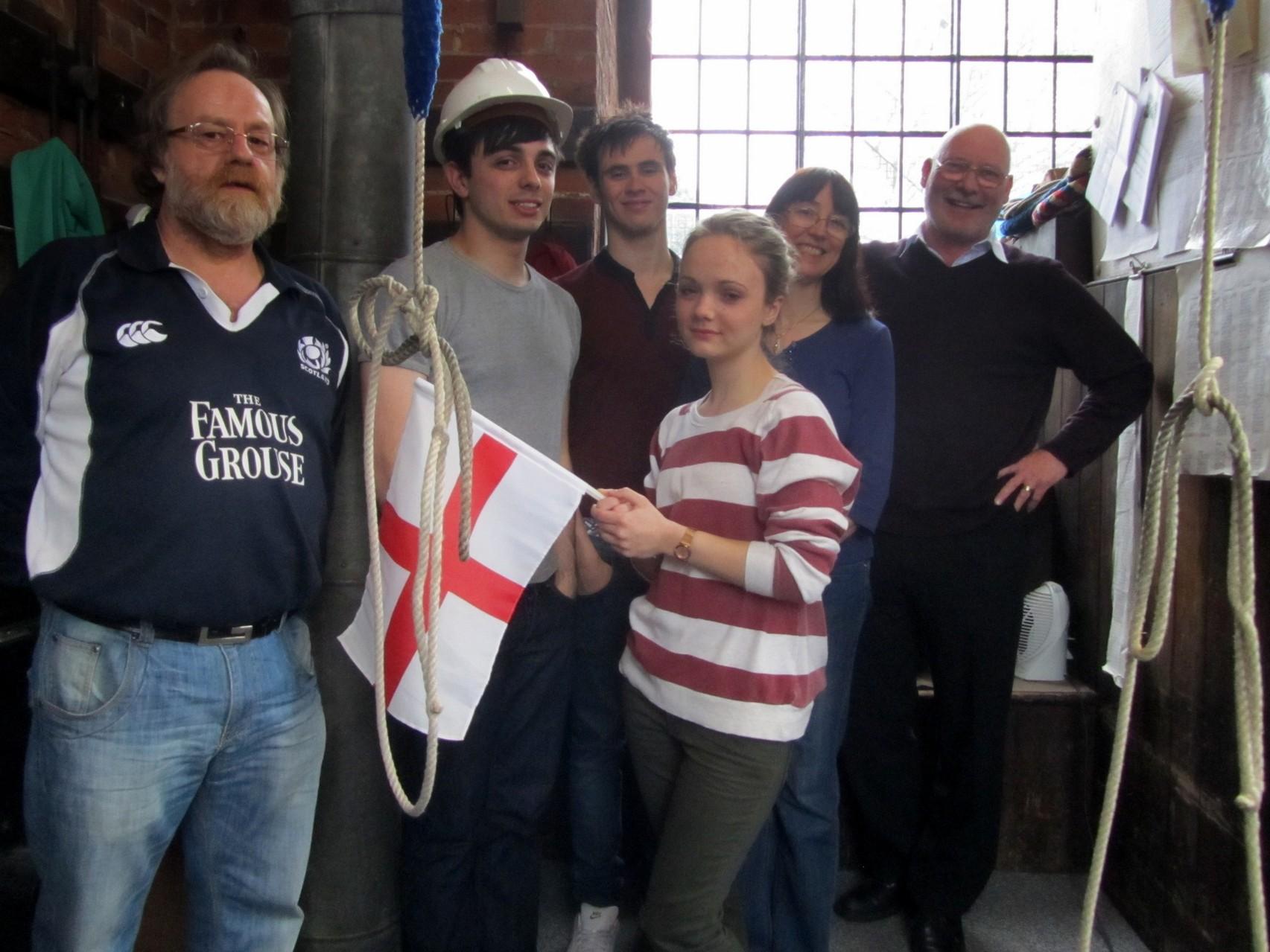 Castle Bromwich ringers 2012
