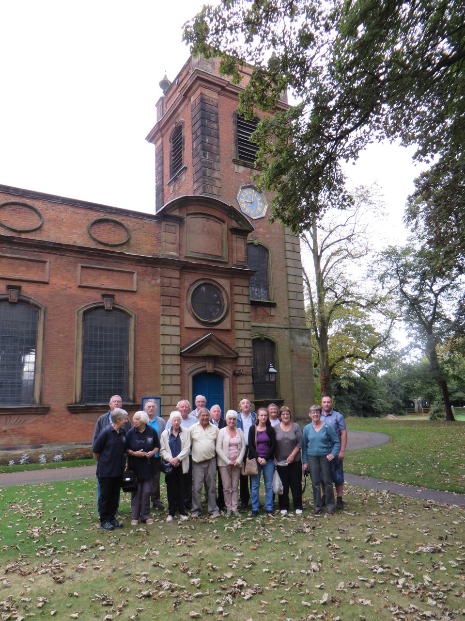 Visiting ringers from Colchester