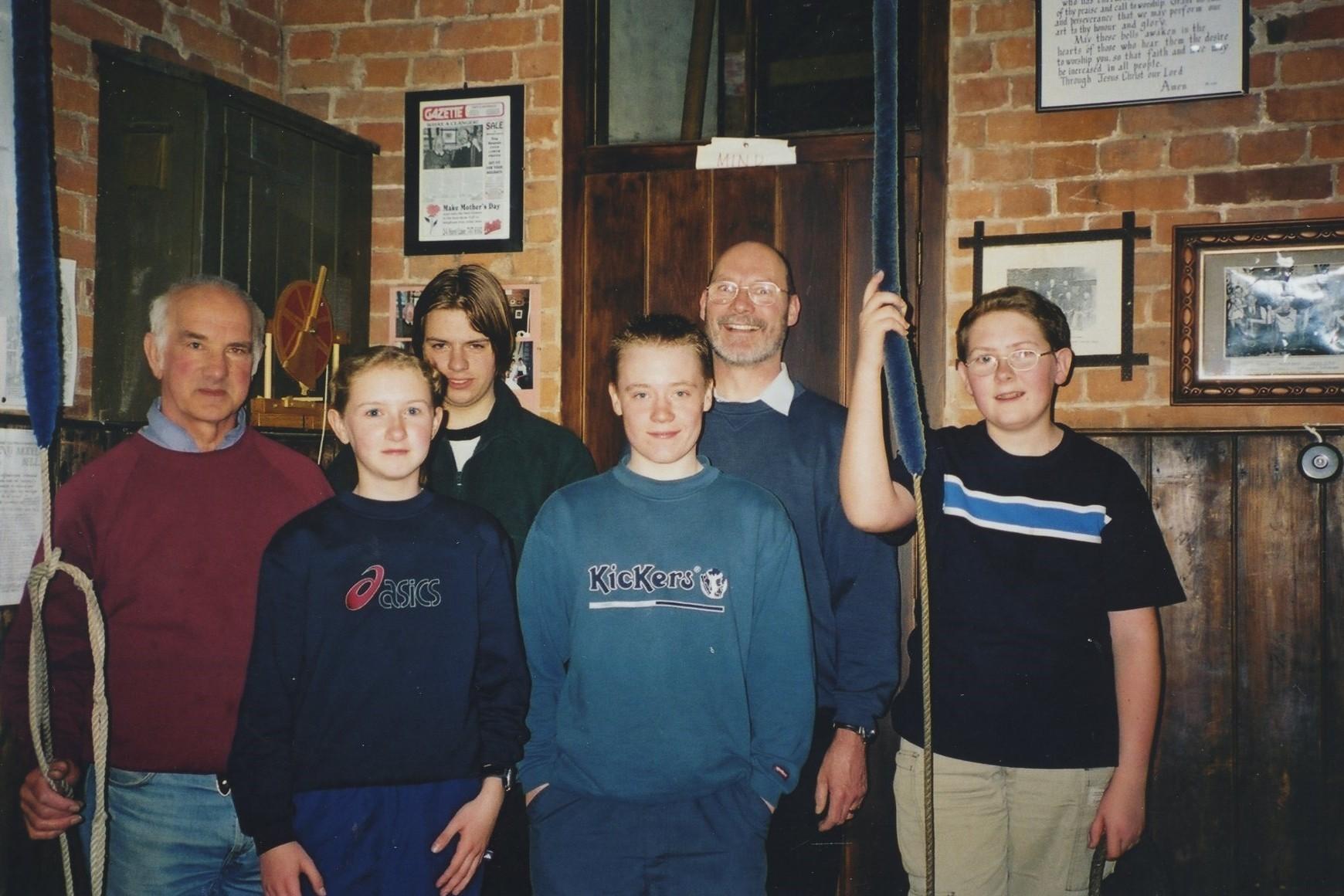 Castle Bromwich ringers in 2001