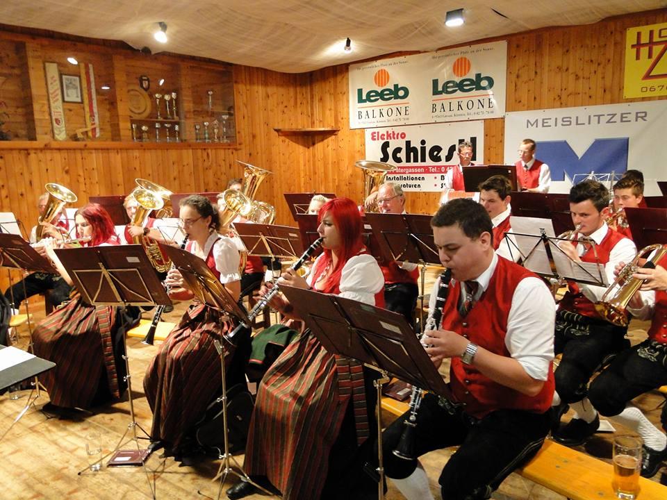 Konzert Bezirksmusikertreffen in Zedlitzdorf