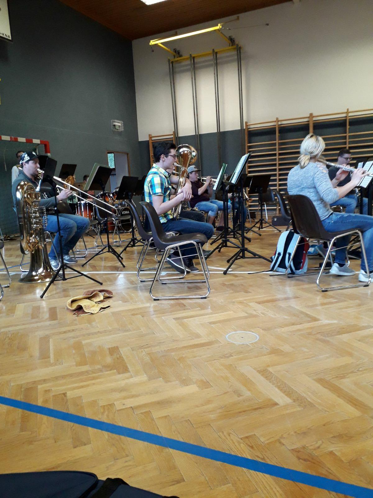 Jungmusikerprobe am Samstag