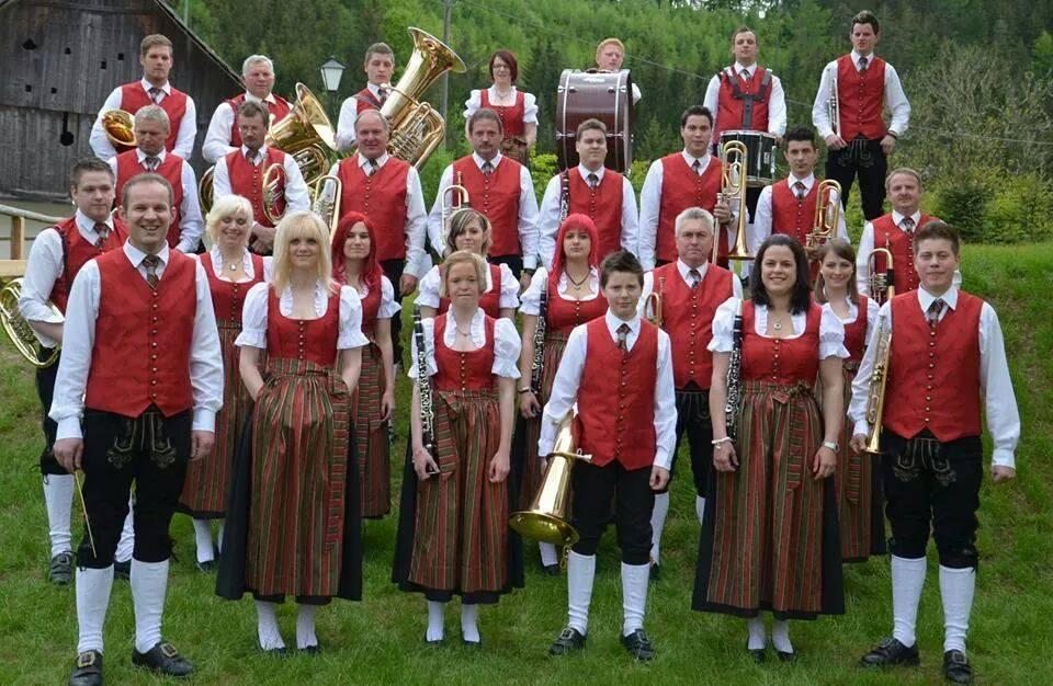 60-Jahr-Jubiläum der Trachtenkapelle Sirnitz 2014