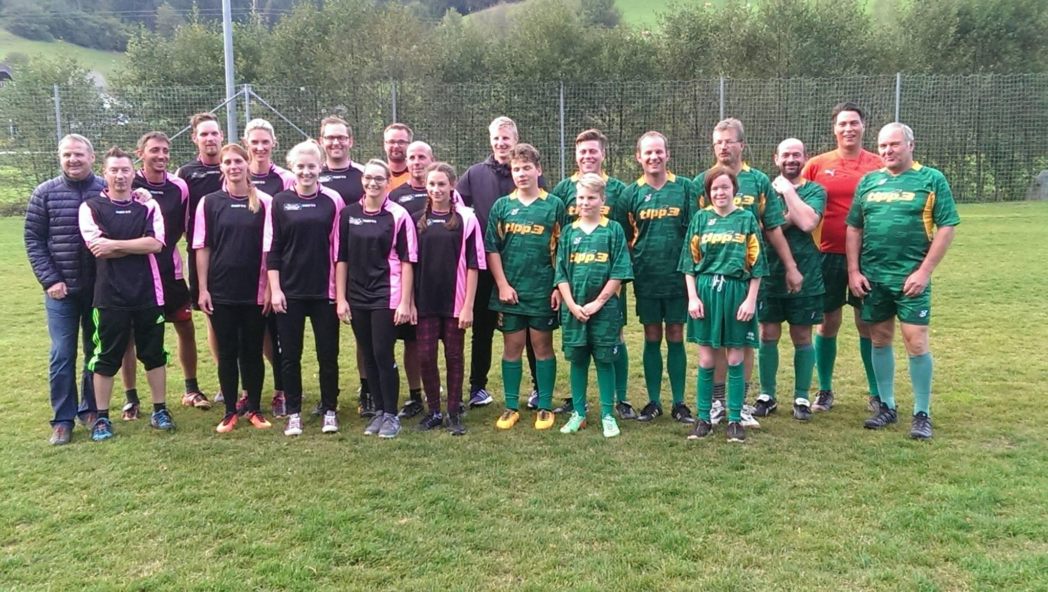 Fußballmatch TK Sirnitz - TK Deutsch-Griffen
