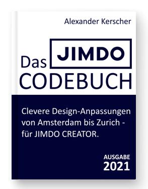 JIMDO Design - Das JIMDO Codebuch 2021